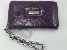 Women's Kenneth Cole Purple PDA/Phone Pocket Clutch Wallet - $50 MSRP