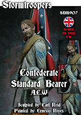 Stormtroopers Confederate Color Bearer ACW Bust Unpainted kit 1/9th CARL REID