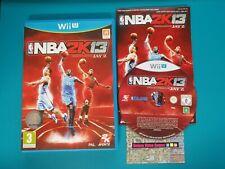 NINTENDO WiiU : NBA 2K13 - wii u