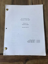 "My So-Called Life ""Dancing in the Dark"" Tv show script"