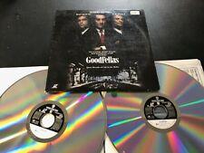 """Goodfellas"" Widescreen Extended Play Laserdisc LD - Robert De Niro Free Ship"