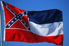 New HEAVY DUTY 3x5 ft MISSISSIPPI STATE FLAG SATIN Best quality USA seller