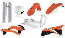New Acerbis Plastic Kit Motocross KTM SX SXF 125/250/350/450 2013-14 OEM Colour