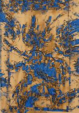 "Alan Frederick Sundberg ""flock of birds"" plate Signed serigraph 1980 US ARTIST"