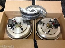 FORD FOCUS MK1 1.4 1.6 1.8 NEW REAR BRAKE DRUMS SHOES BEARINGS & CYLINDERS 98-04