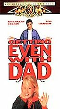 Getting Even With Dad [VHS]