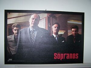 The Sopranos Painting