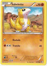 Sabelette - N&B:Frontieres Franchies - 78/149 - Carte Pokemon Neuve Française