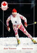 1992 Canadian Olympic Hopefuls #35 JaneVincent