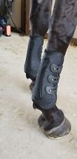 Horse Tendon Boots Full Black set o/4 + 🎁