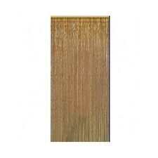 Bamboo Bead Curtain Room Divider Natural Handmade Earthy Wall Door Hanging Panel