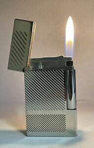Vintage lighter Dupont Ligne 2 Platinum❤️💚Excellent Rare