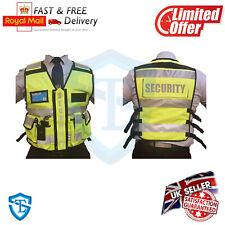 Tactical Security Duty Patrol Vest Hi Viz Yellow Sia Industry Door Staff