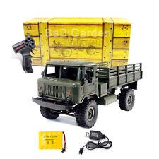 Military WPL B-24 GAZ-66 1/16 Truck 4 Wheel Drive Off-Road RC Car Remote Control