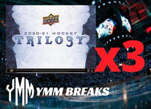 2020-21 Trilogy Hockey 3-Box LIVE BREAK- SELECT TEAM