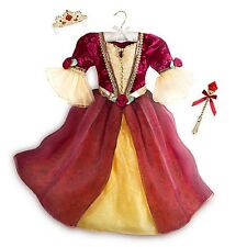 Disney Store Deluxe Belle Dress Costume Princess Fancy Size 5/6 New
