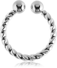 NEW Surgical Steel Fake Septum Ring Aussie Seller Free Delivery