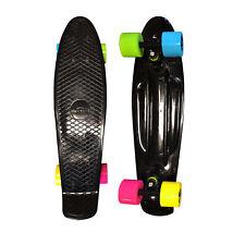 "Black Penny Board Skateboard w FREE T Tool Combo 22"" Cruiser Board Fast Ship AZM"