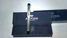 Aurora Fountain Pen  -  Penna stilografica Aurora  - C18 Idea - Silver 925
