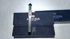 Aurora Fountain Pen  -  Penna stilografica Aurora  - C18 Idea - Silver 925