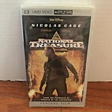 National Treasure Movie Sony PSP UMD Movie 98855 NEW SEALED Nicolas Cage NIP