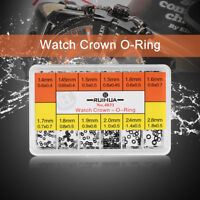 Mini Small Rubber Washer O-Ring Watch Crown Waterproof Seals Repair Tools