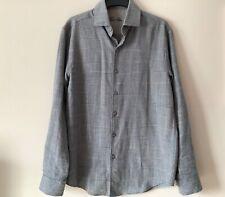 Tasso Elba Men's Shirt size 14-14.5 collar 100% Cotton