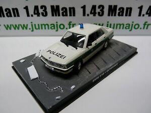 JB66 voiture 1/43 IXO 007 JAMES BOND : BMW 518 Octopussy Police