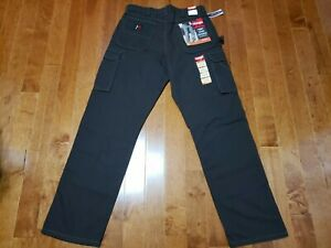 Wrangler Riggs Workwear Ranger Pants men 34x34  brown Ripstop Relaxed Fit nwt