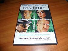 Confidence (DVD Widescreen 2003) Dustin Hoffman, Rachel Weisz, Edward Burns Used