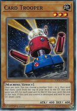 YU-GI-OH CARD: CARD TROOPER - SDCL-EN015 - 1ST EDITION