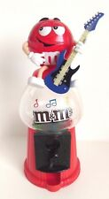 M&M's Novelty Candy Dispenser Sweet Dispenser Coin Bank Gumball Style - Red M&M