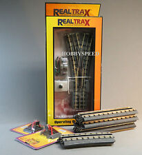 MTH REALTRAX 072 WYE SWITCH SPUR LAYOUT BUILDER o gauge train accessory 40-1069