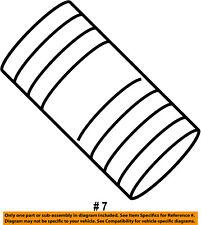 CHRYSLER OEM Exhaust-Muffler W/tpipe Nut 68057855AA