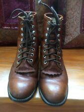 Women's Justin Boots Brown Size D Style 42OY Registered 54761 Good condition
