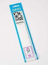 DAVO CRISTAL STROKEN MOUNTS C31 (215 x 35) 25 STK/PCS