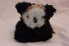 Vintage Real Fur Covered KOALA Bear Still Coin Bank. RaRe! VGUC! Super Cute!