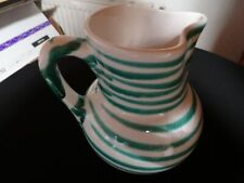 Gmundner Keramik  Mostkrug 1 Liter  neuwertig  grün geflammt