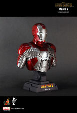 Hot Toys Iron Man 2 Mark MK V 5 1/4th quarter scale Collectible Bust