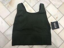 NWT Victoria's Secret VSX Seamless Longline Sport Bra S Small Forest Army Green