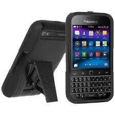 AMZER RUGGED HYBRID CASE COVER WITH KICKSTAND FOR BLACKBERRY CLASSIC Q20 - B/B