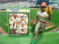 1989  VINCE COLEMAN - Starting Lineup - SLU - Loose With Card - S.L. Cardinals