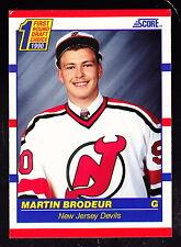 1990-91 SCORE #439 MARTIN BRODEUR DEVILS ROOKIE