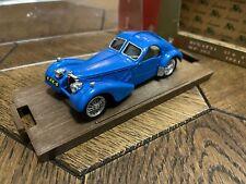 Brumm Serie oro r87 Bugatti 57S Coupe HP165 1934-1936 Blue 1:43 Scale model