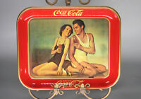 1974 Reproduction of 1934 Coca Cola Tray Maureen O'Sullivan Johnny Weismuller