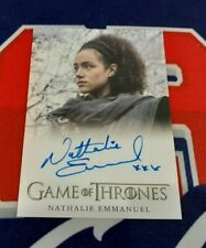 2020 The Complete Game of Thrones Nathalie Emmanuel FB Autograph