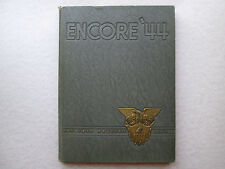 ENCORE '44 West Point United States Military Academy TEN YEAR REUNION 1954 Book