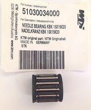 NEW KTM NEEDLE BEARING KBK FOR PISTON 125 144 150 200 EXC SX XC MXC 51030034000