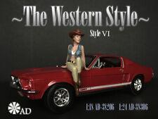 American Diorama Figure 1:24 Scale (7.5 cm) The Western Style VI - AD-38306