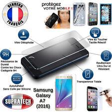 Protection d'Ecran en Verre Trempé Contre les Chocs pour Samsung Galaxy A7 2016